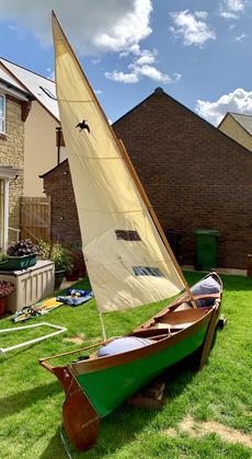Open Sailing Canoe