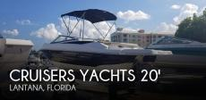 2014 Cruisers Yachts Sport Series 208