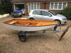 Mirror Dinghy with Combi Trailer