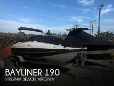 2016 Bayliner 190 Deckboat