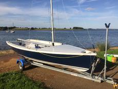 Wayfarer Hartley 2014 sailing dinghy VGC