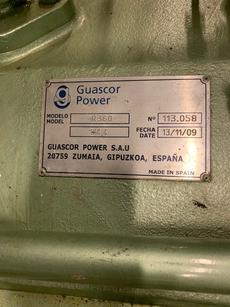 GUASCOR R360 MARINE GEARBOX WITH PTO