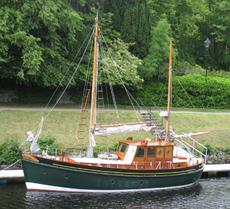 Inchcape 38, Scottish Fishing style motorsailer 1965