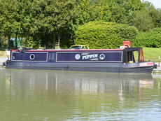 PIPPIN 42ft 11in trad narrowboat for sale with 4 berths