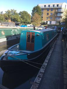 "NARROWBOAT ""GORSE"" 55FT TRAD STERN"