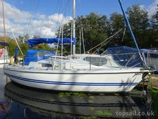 1990 Pegasus 800 (A-frame mast lowering, diesel.eng) - topsail.co.uk