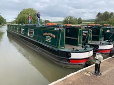 65ft Semi-Trad Narrowboat