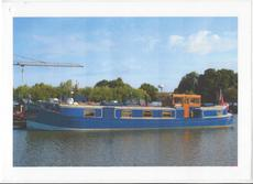 """REDUCED"" Replica Cat C Dutch Barge with canalside mooring"
