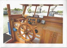 """""""REDUCED"""" Replica Cat C Dutch Barge with canalside mooring"""