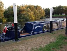 40ft Narrowboat Cruiser Stern w surveys available