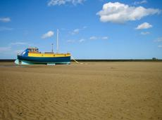 32ft Houseboat with mooring in Blakeney