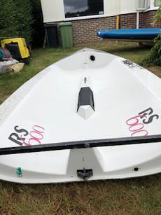 RS 600 bare hull sail 719