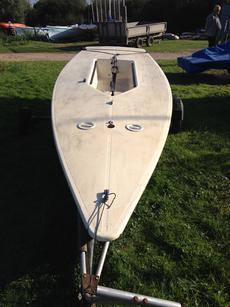 Laser Hull (Sail number 68620)