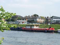 Amazing Floating Home: Humber Keel Barge