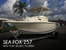 2002 Sea Fox 257 Walkaround