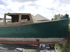 Ex Royal Navy survey boat for sale! £300