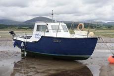 Colvic Seaworker 22ft fishing boat