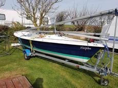 Laser 16 'Talitha' sail number 16766