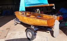 9ft. FAIREY DUCKLING SAILING DINGHY - excellent example