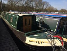 "NARROWBOAT ""QUITE MAN"" 58fT"