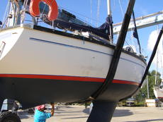 Dufour 29- refurbished, lots of new equipment this year