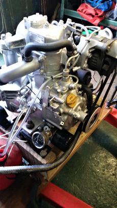 YANMAR 1GM inboard diesel engine