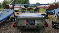 Mersea Double Stacking Box Trailer