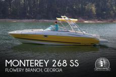 2007 Monterey 268 SS