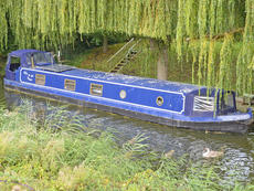 MIST ON THE WATER 60ft 5in x 10ft 0in wide beam cruiser for sale with