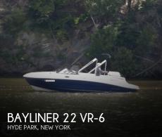 2017 Bayliner 22 VR-6