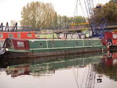 57ft Cruiser Stern Narrowboat Built 1999 by John White