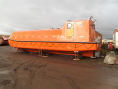 FASSMER CL-T LIFEBOAT,70 PERSON,NEW UNUSED.