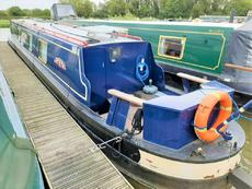 Growl Tiger 48ft 2001 JD Boat Services cruiser stern narrowboat