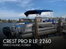 2007 Crest Pro R LE 2260