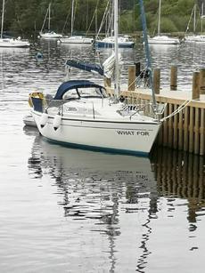 Dehler 25 trailer sailer