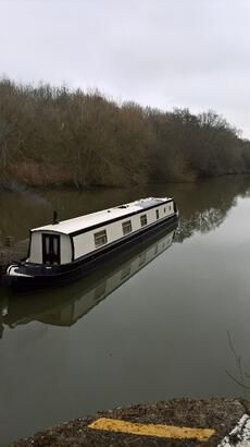 58 FT CRUISER STYLE NARROW BOAT