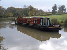45 foot cruiser stern ex hire boat