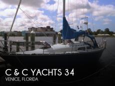1982 C & C Yachts 34