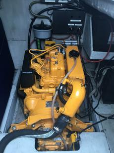 2 marine diesel engines vetus 10 HP
