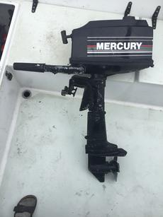 MERCURY 4HP outboard