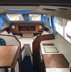 24 ft river cruiser