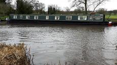 69ft Semi-Trad Narrowboat