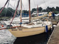 Skanner 19 Gaff Rig Sailing Boat