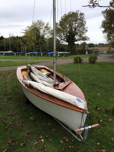 Wooden GP14 number 12857