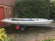 Laser Sailboat No. 156340