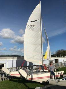 Dart 18 Catamaran