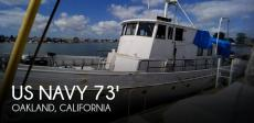 1940 US Navy 73' Naval Vessel
