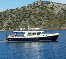 Brandsma 13.4 Dutch steel motor Yacht