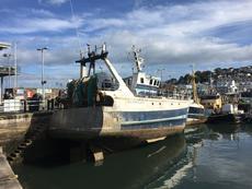 fibreglass trawler