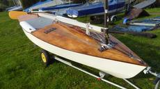 Composite OK dinghy number 2067.